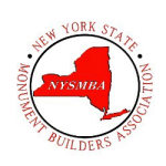 NYS Monument Builders Assoc. Logo